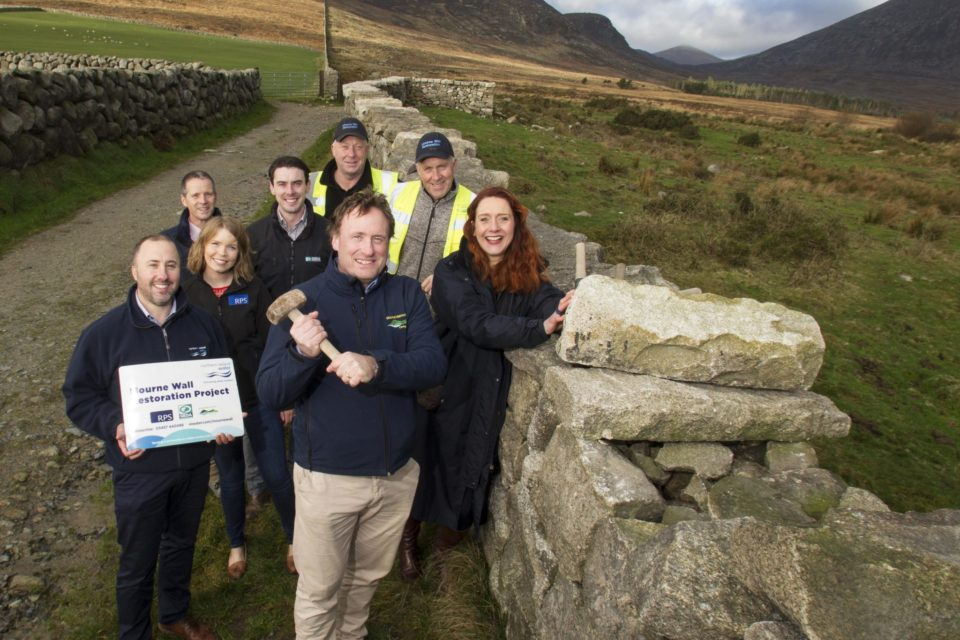 100-year Old Mourne Wall restored ahead of schedule