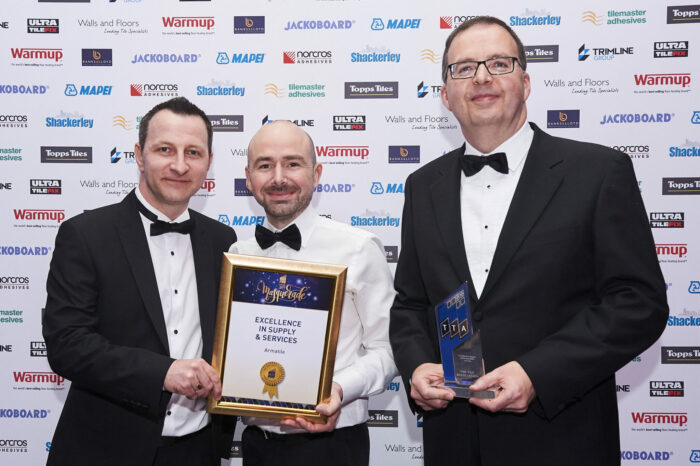 Armatile Wins National Industry Award for Excellence