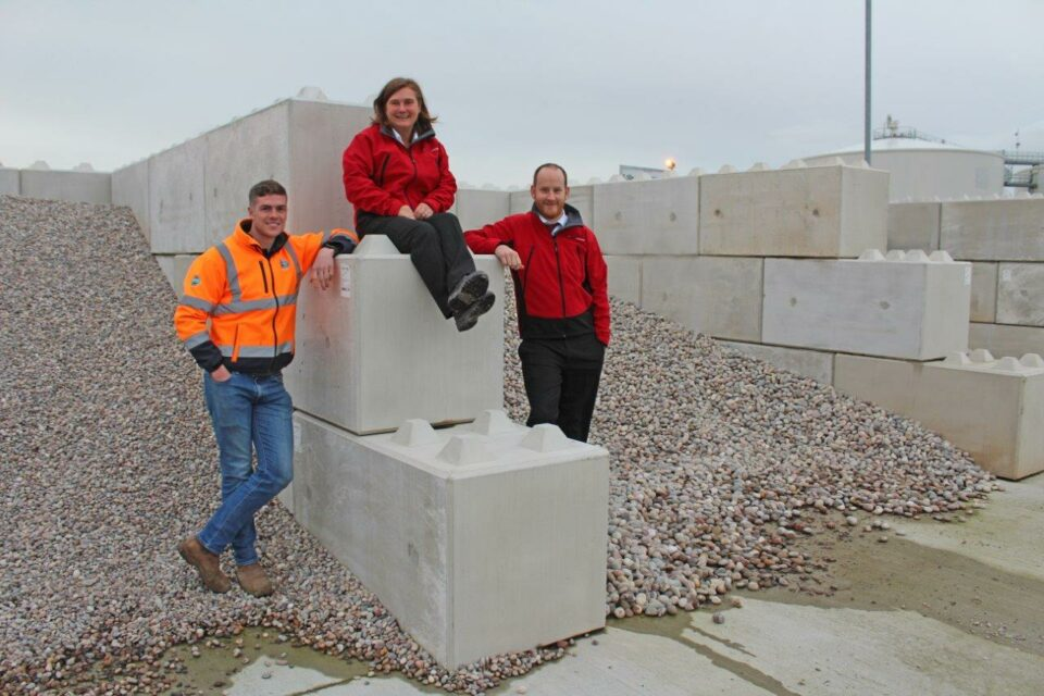 New aggregate storage solution has strong 'Lego' characteristics