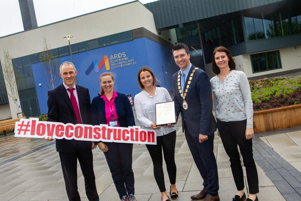 Heron Bros Secures Gold Award for Construction of Ards Blair Mayne Wellbeing and Leisure Complex