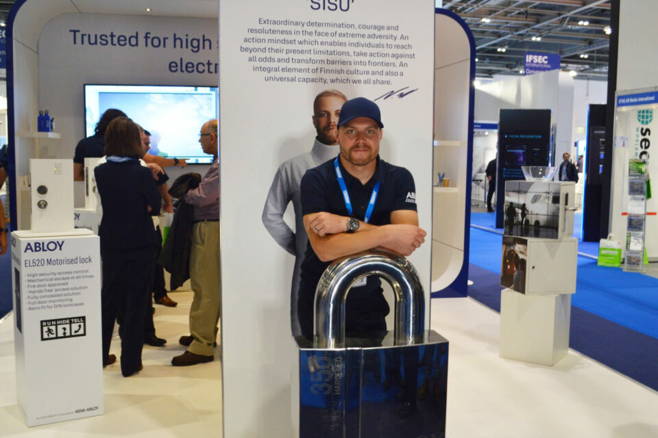 IFSEC SUCCESS FOR ABLOY WITH VALTTERI BOTTAS COLLABORATION SHOWCASE