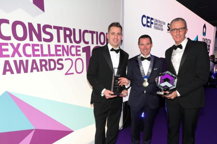 Co. Down based contractor GRAHAM Wins Overall Award at the Construction Excellence Awards