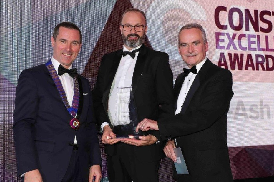 CEF/Specify Awards - Gilbert-Ash wins GB & RoI Construction Award below £5m, above £5m and Achieving Excellence in Partnering