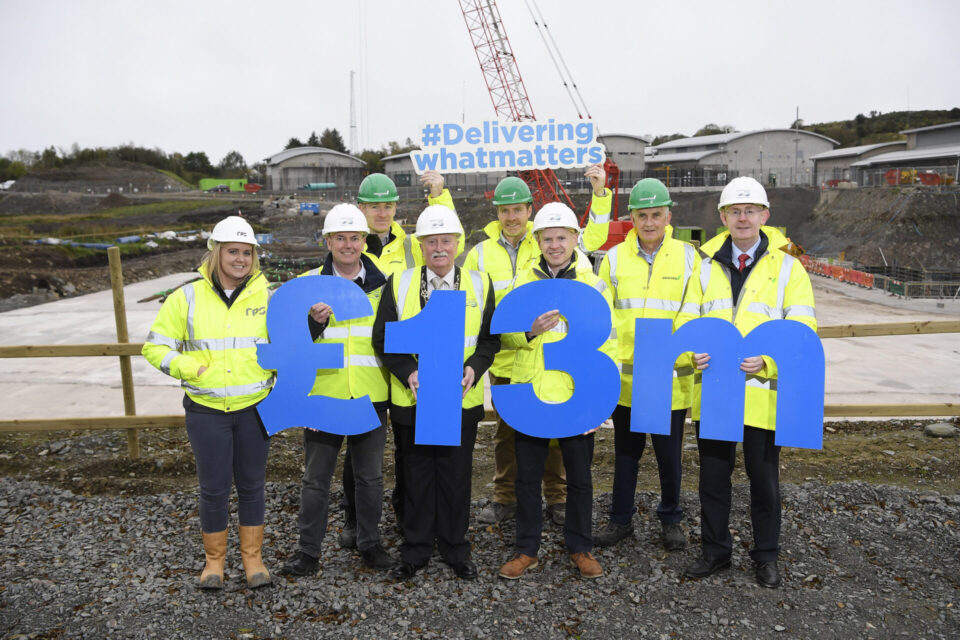 £13 Million Upgrade at Drumaroad Water Treatment Plant to benefit a quarter of NI's population.