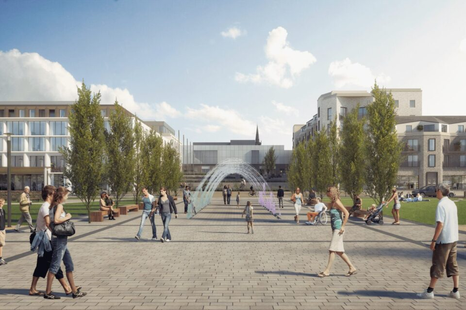 Plans submitted for £50m redevelopment of Queen's Parade