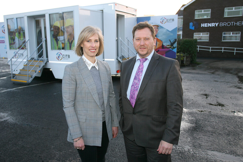 CITB NI launch brand new Mobile Training Unit for the local Construction Industry
