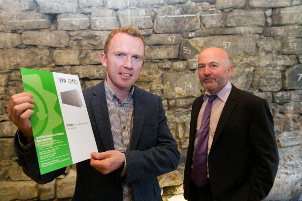 Quinn get first Irish Environmental Product Declaration for Precast Concrete