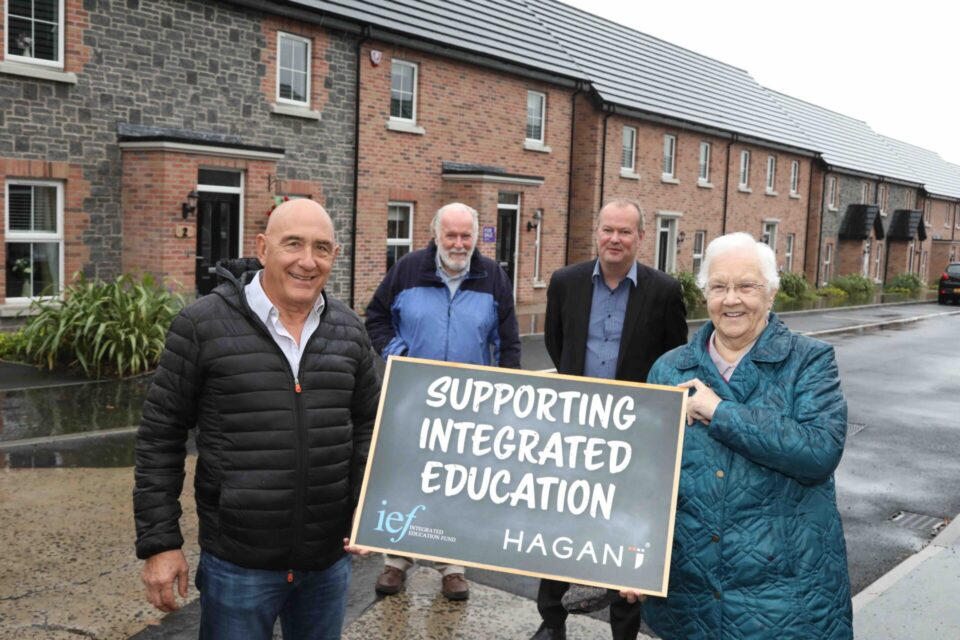 BALLYCLARE HOMEBUILDER DONATES £100,000 TO SUPPORT INTEGRATED EDUCATION