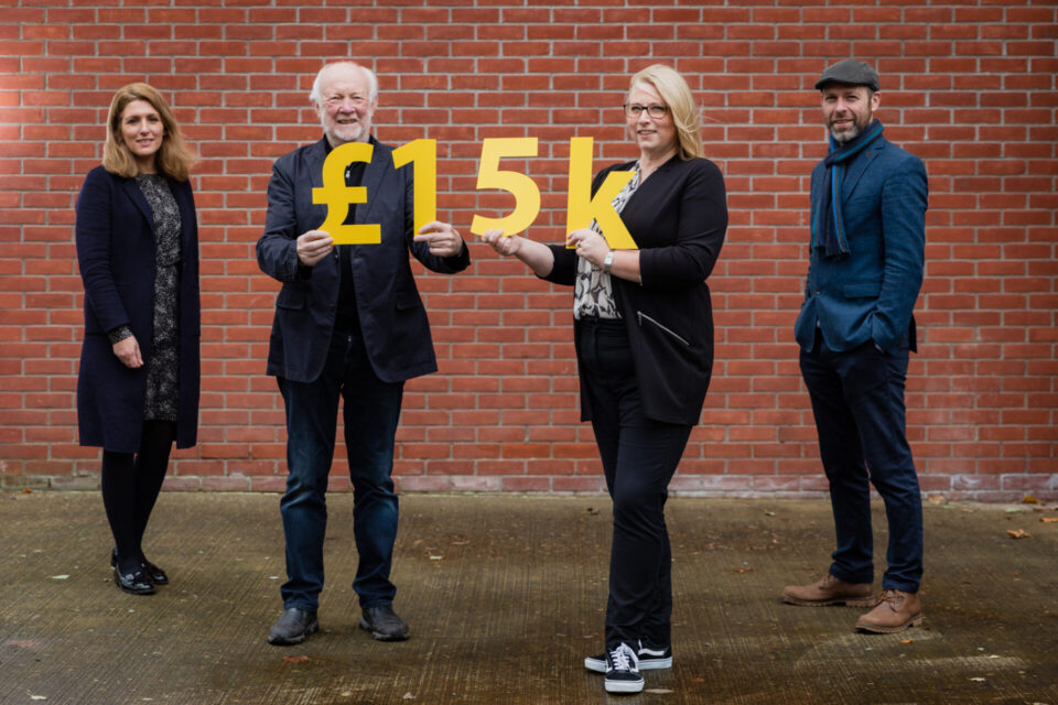 Architects raise £15,000 for Friends of the Cancer Centre