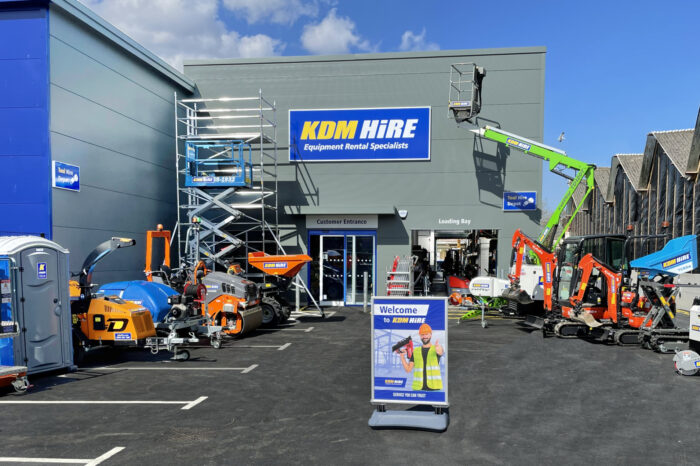 KDM Hire Invests £1.3 million in new Tool & Equipment Hire depot