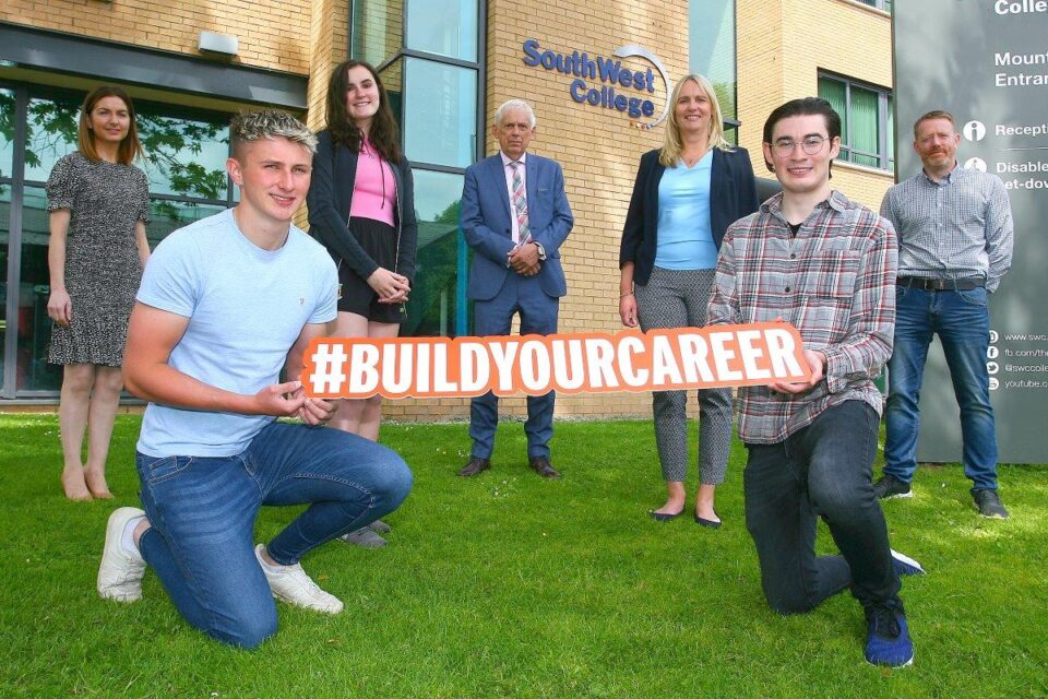 SOUTH WEST COLLEGE STUDENTS AWARDED CITB NI INAUGURAL BURSARY FOR BUILT ENVIRONMENT